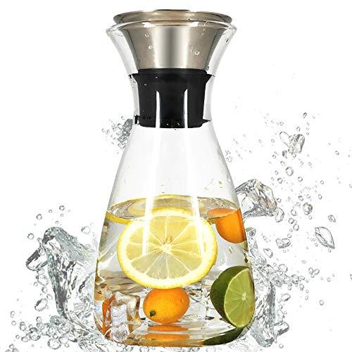 JIFOSDJE 1400ml Kaltwasserkocher, hitzebeständige Dreieck Kessel, Geeignet for die Herstellung der Faule Schlaf Tee, blühender Tee Bälle, Schwarzer Tee, Grüner Tee
