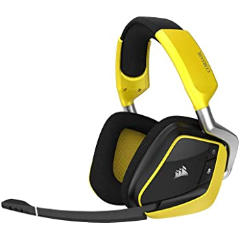 Corsair VOID PRO RGB WIRELESS Special Edition Gaming Headset (PC, Wireless, Dolby 7.1) gelb