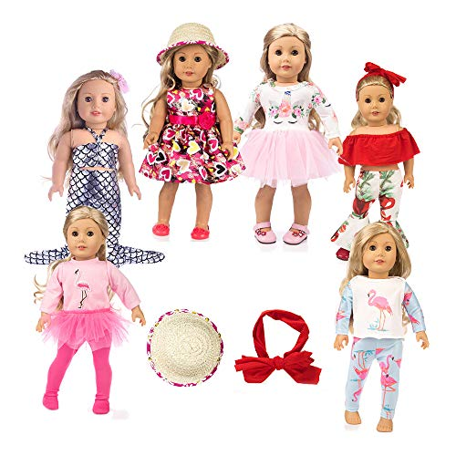 american girsl doll unicorn 11pc american girsl doll clothes 18 inch Doll Clothes American girsl Doll Accessories ,American girsl Doll Unicorn Clothes,American girsl Doll Unicorn Accessories and Clot