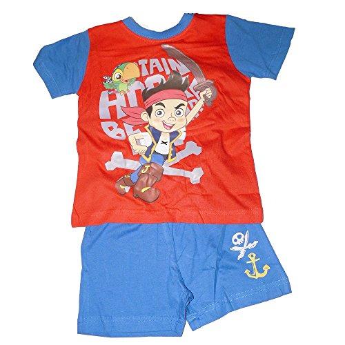 Pyjama kurz Jack und die Piraten Gr. 98, Mehrfarbig - Mehrfarbig