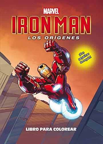 Iron Man. Los orígenes. Libro para colorear: ¡Con pegatinas de regalo!