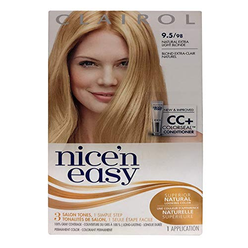 Price comparison product image Nice & Easy Hair 98 Size 1 Kit Clairol Nice & Easy Hair Color Treatment 98
