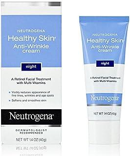 Neutrogena Healthy Skin Anti-Wrinkle Night Cream 1.4 OZ (Pack Of 2 Tubes)