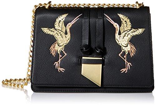 Foley + Corinna Damen Opulence Bag Sonne (Sol), Opulenz, Blogger, Tasche, schwarz, Einheitsgröße
