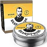 BEARDPRIDE Bartbalsam Männer - Summer - Das Original Bart Balsam aus dem Barbershop - Unser Beard Balm basiert auf natürliche Sheabutter und Ölen - Bartbalm - Geschenk für Männer - 28g