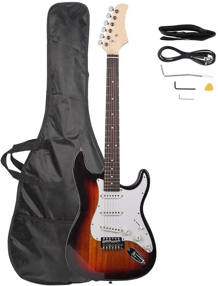 Kosoree Colorful Electric Guitar+Strap+Cord+Beginner Pack Access Superior Cheap SALE Start