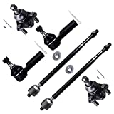 Pontiac Vibe Ball Joints & Components - Scitoo 6pc Inner Outer Tie Rod End Lower Ball Joint fit Pontiac Vibe 2003 2004 2005 2006 2007 2008