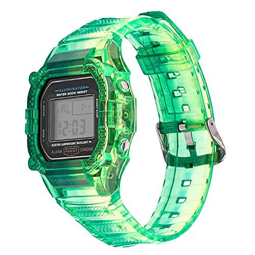 GZMYDF Caja de Resina TPU Caja de Reloj para CASIO G-Shock DW-5600 GW-M5610 M5600 GLX-5600 Reemplazo de reemplazo de la Banda de muñeca Accesorios