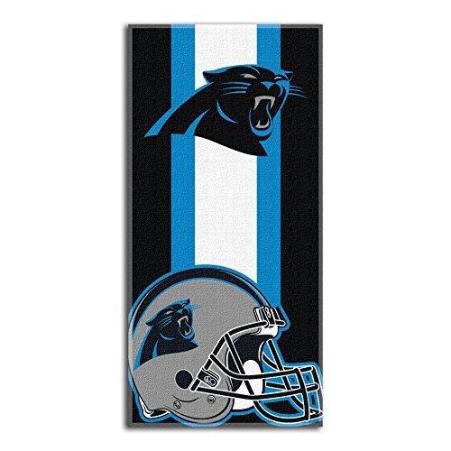 The Northwest Company NFL Carolina Panthers 'Zone Read' Beach Towel, 30' x 60' , Blue