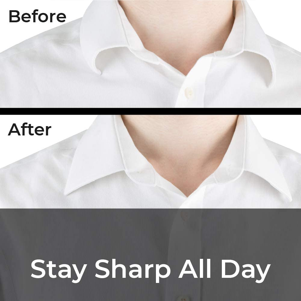 100 Plastic Collar Stays