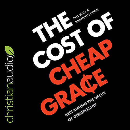 The Cost of Cheap Grace audiobook cover art