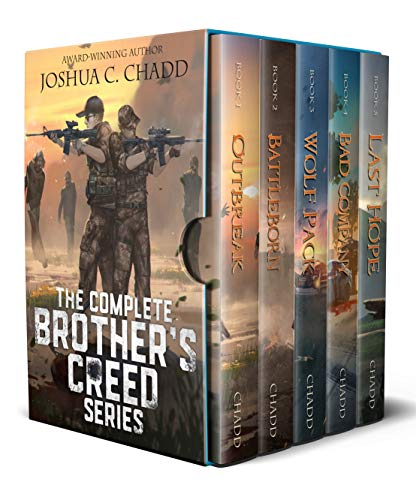 The Brother's Creed Box Set: The Complete Zombie Apocalypse Series (Books 1-5) (English Edition)