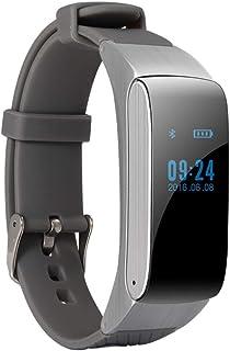 HBBOOI Bluetooth Headset Pulsera Inteligente 2en1 Oxígeno Presión de Llamadas del Ritmo cardíaco Sangre Monitoreo IP67 a Prueba de Agua Paso Nueva Pulsera Mujer Hombre Niños Regalos