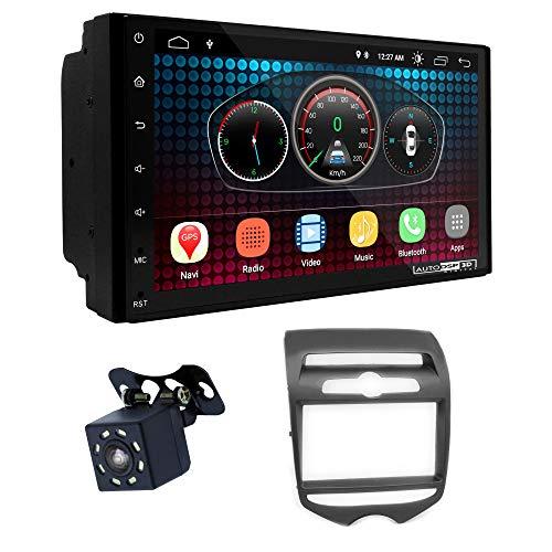 UGAR EX6 7 pollici Android 6.0 DSP Navigazione GPS per Autoradio + 11-298 Kit di Montaggio compatibile per Hyundai iX-20 2010+