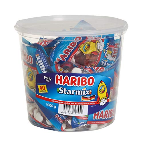 haribo starmix ハリボー スターミックス 1000g バケツ