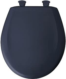 Bemis 200SLOWT 374 Lift-Off Plastic Round Slow-Close Toilet Seat, Rhapsody Blue