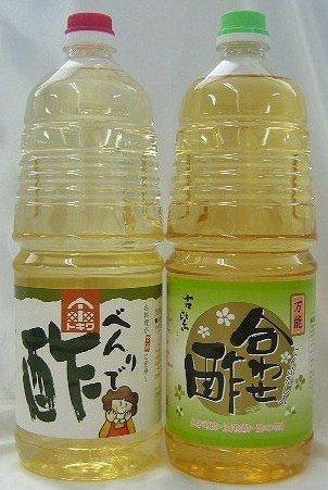 トキワべんりで酢&古紫(合わせ酢) 1800mlペット*2本セット