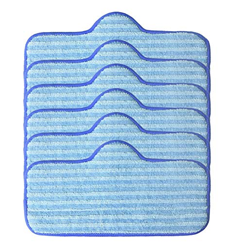 Koojawind Mikrofaser-Pads Kompatibel Dampfreiniger Fasermopp, Wischmopp-Reinigungspad Passend FüR Dupray-Wischmopps Und Wischmopps Waschbar - BerüHrungsfrei - Reinigen Sie Den Boden Auf Einfache Weise