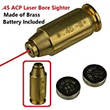 GRG 45ACP .45 Cartridge Pistol Laser Bore Sighter Boresighter Red Dot Laser US