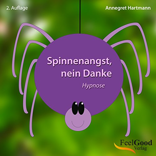 Spinnenangst, nein Danke audiobook cover art