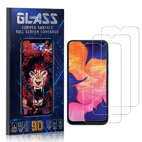 Conber Panzerglasfolie für Samsung Galaxy M20, [3 Stück] 9H gehärtes Glas, Blasenfrei, Kratzfest, Hülle Freundllich Hochwertiger Panzerglas Schutzfolie für Samsung Galaxy M20