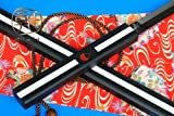 AIT Collectibles S3113 Japanese Anime Naruto Sasuke Kusanagi Sword Gun Metal Blade White Edge 40'