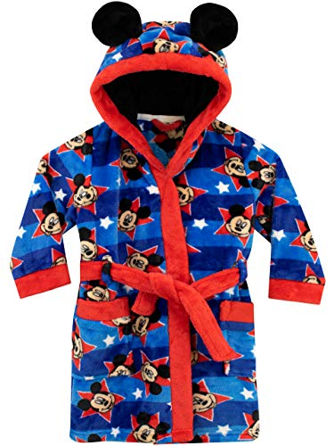 Disney - Bata para niños - Mickey Mouse Azul 4-5 Años