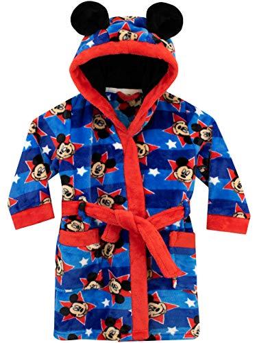 Disney Jungen Mickey Mouse Bademäntel Blau 86