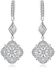 Vintage rose gold earrings Wedding floral earrings Wedding accessories Magaela accessories Handmade Flower stud earrings Bridal jewelry