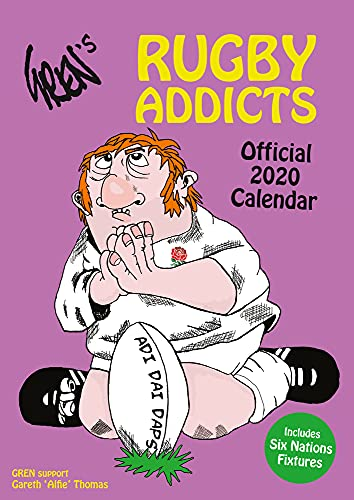 The Official Rugby Addicts (Gren's) Calendar 2022