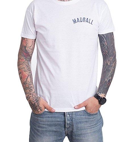 Madball - New Can't Stop White - T-Shirt-Medium