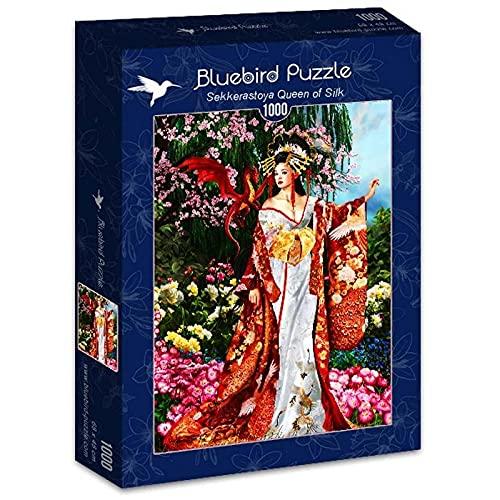 Bluebird Puzzle Sekkerastoya Reina de Seda Jigsaw 1000 piezas