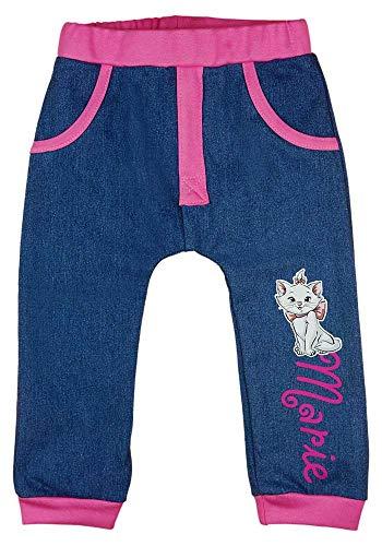 Baby Mädchen Jeans in Größe 68 74 80 86 92 98 Disney Marie die Katze (Modell 1, 68)