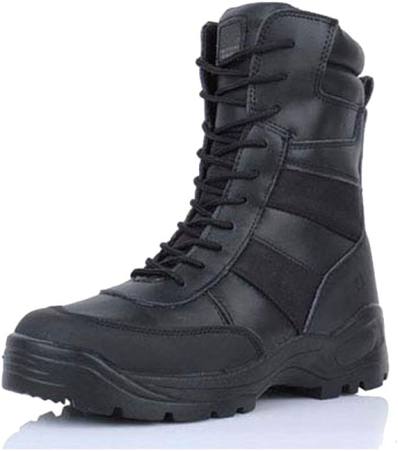 FXMYL Army Boots Desert Boots Combat Boots Army Fan Outdoor Tactical Training Boots Hiking Boots