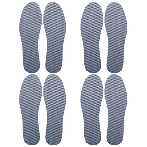milisten 4 Paar Absorberende Schoenen Inzetstukken Spons Inlegzolen Platvoet Orthopedische Inlegzolen Schoenboogsteunen Pads Voor Mannen - Maat 47 11. 5Us 10. 5Uk 45. 5Eu