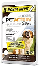 Pet Action Plus for Dogs, 8 Doses - 88 to 132 lbs.