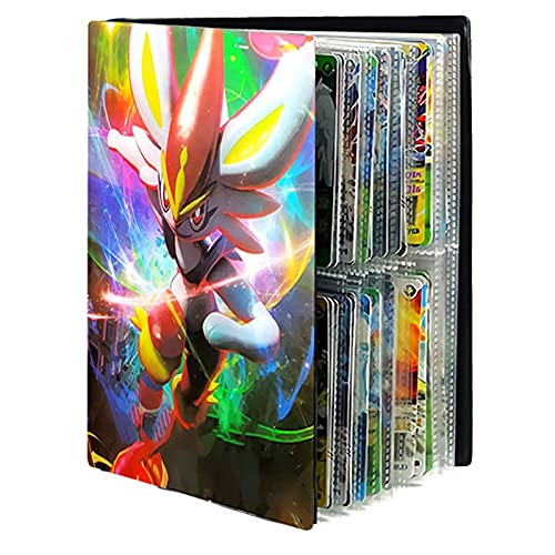 Mrjg Pokemon 240 stücke Album Pokemon Karten Buch Cartoon Game Karten Sammlungen Ordner geladene Liste Halter Binder Pokemon Karte Coole Spielzeug Kinder Geschenk (Color : 28)