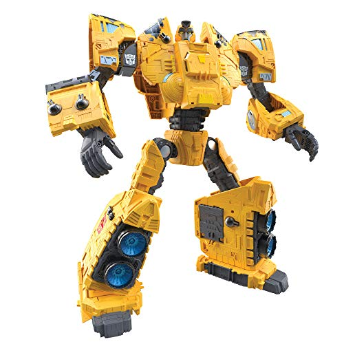 Transformers Toys Generations War for Cybertron: Kingdom Titan WFC-K30 Autobot Ark Action Figure - Kids Ages 15 and Up, 19-inch