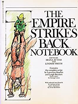 The Empire Strikes Back Notebook 0345288343 Book Cover
