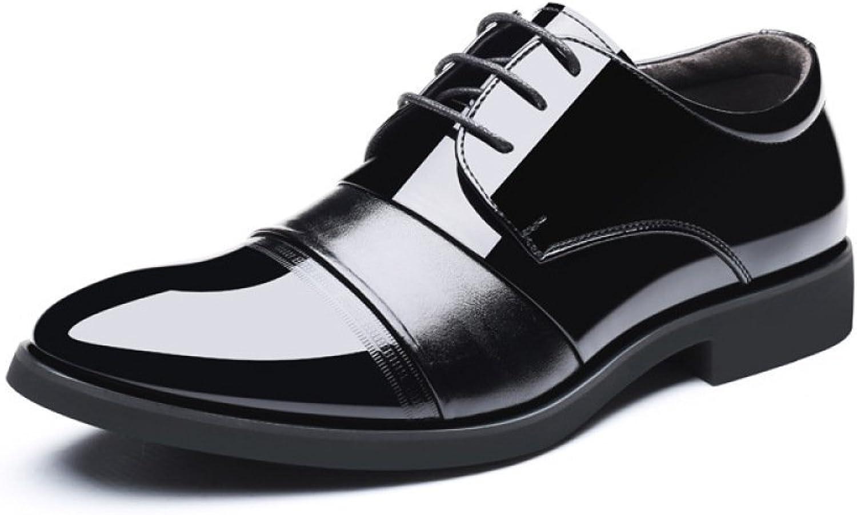 WLFHM Business Freizeitschuhe Frühling Herrenschuhe Herrenschuhe Schnürschuhe Einzelne Schuhe