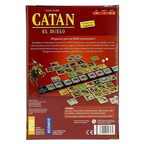 Devir Iberia 227239 Catan el Duelo, Multicolor: Amazon.es ...