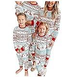Conjunto de pijama de Navidad para familias con ropa familiar y pantalón de pijama de Navidad, Niño*negro, 4 años