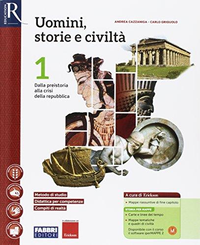 Uomini, storie e civiltà. Saperi di base-Hub libro young-Hub kit. Per le Scuole superiori. Con e-book. Con espansione online (Vol. 1)