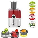 Magimix - Juice Expert 3 Extractor jugo juice expert 3 rojo/cromo