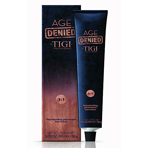 9/4 Very light copper blonde Tigi Age Denied 90ml - rubio muy claro cobrizo