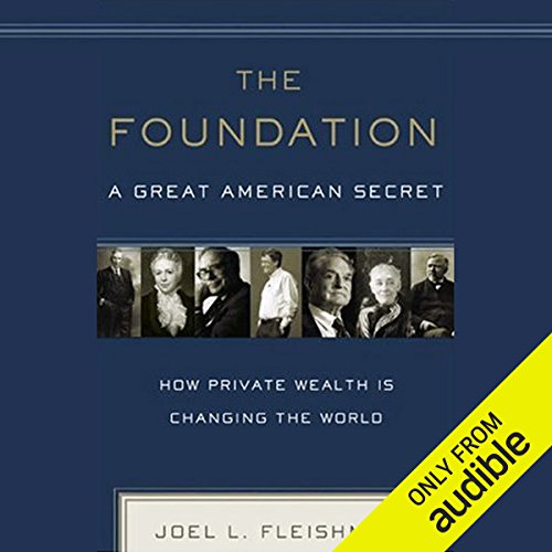 The Foundation audiobook cover art