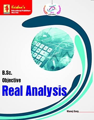 Krishna's BSc. Obj. Real Analysis | Edition-1 | Pages-260 | Code-1647 (English Edition)