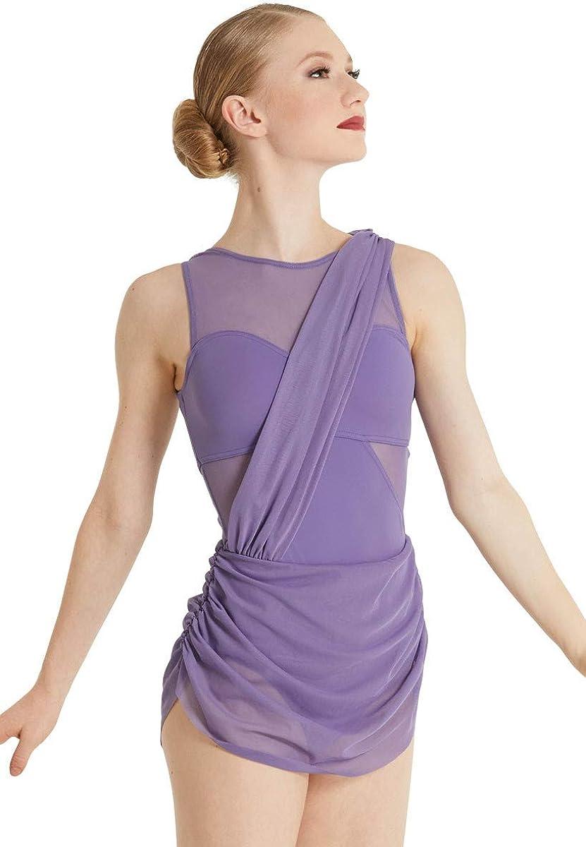 Balera Dress Womens 豪華な Sleeveless for 売れ筋 A Mesh and Insets Dance