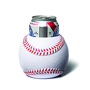 BigMouth Inc Baseball Drink Kooler, White