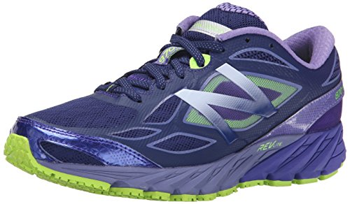 New Balance Women's W870V4 Run Shoe-W, Blue/Purple, 5 B US